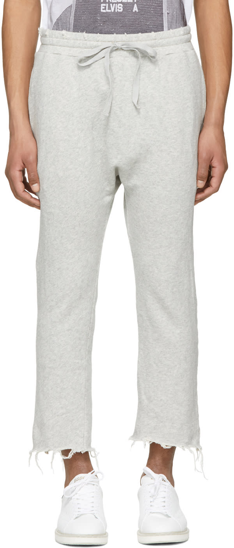 R13 Pantalon De Survêtement Gris Field