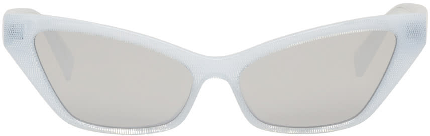 ff33fae810 Oliver Peoples Pour Alain Mikli White Le Matin Sunglasses