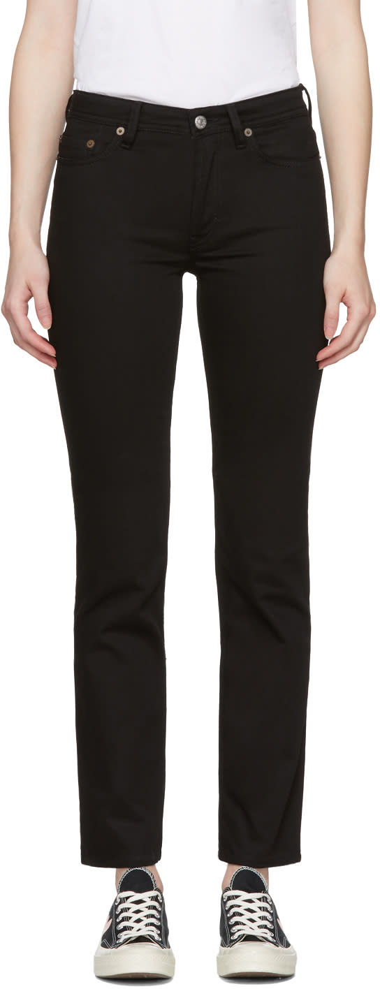 Image of Acne Studios Blå Konst Black South Jeans
