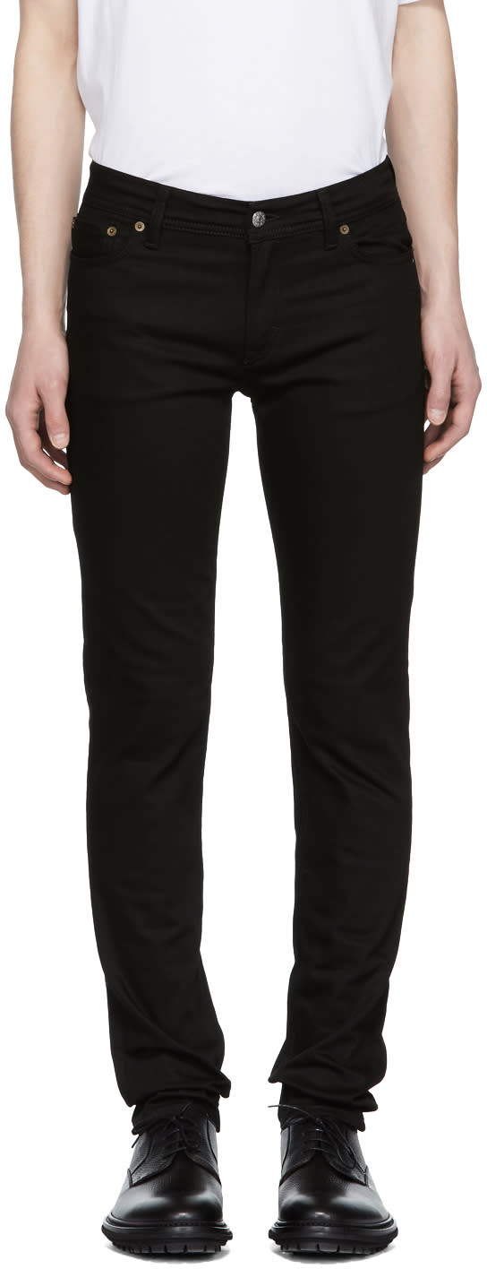 Image of Acne Studios Blå Konst Black North Jeans
