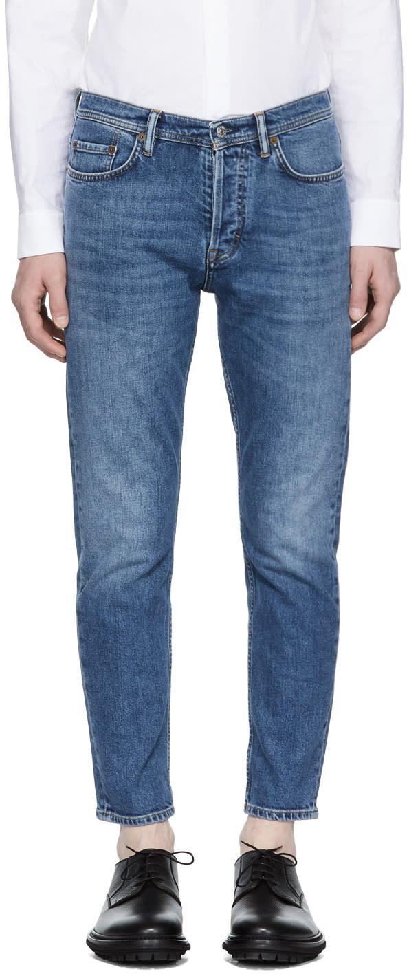 Image of Acne Studios Blå Konst Blue River Jeans