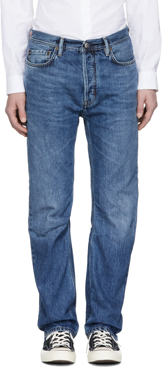 Image of Acne Studios Blå Konst Blue Land Jeans