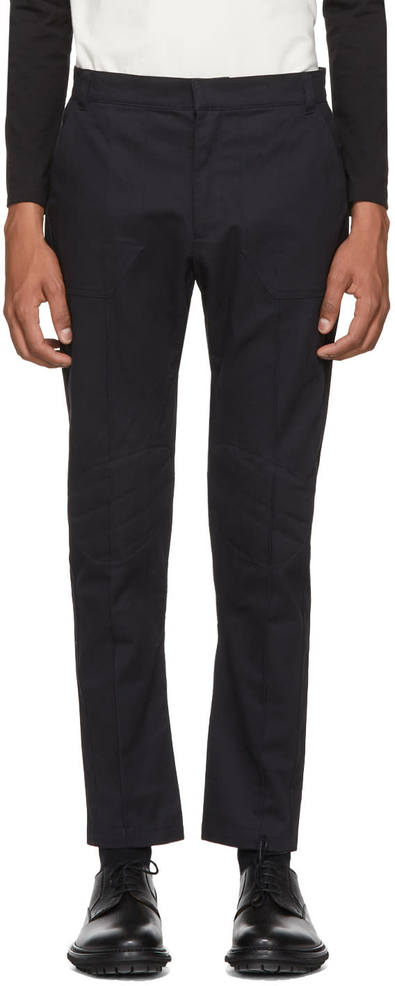 Image of St-henri Black Racing Trousers
