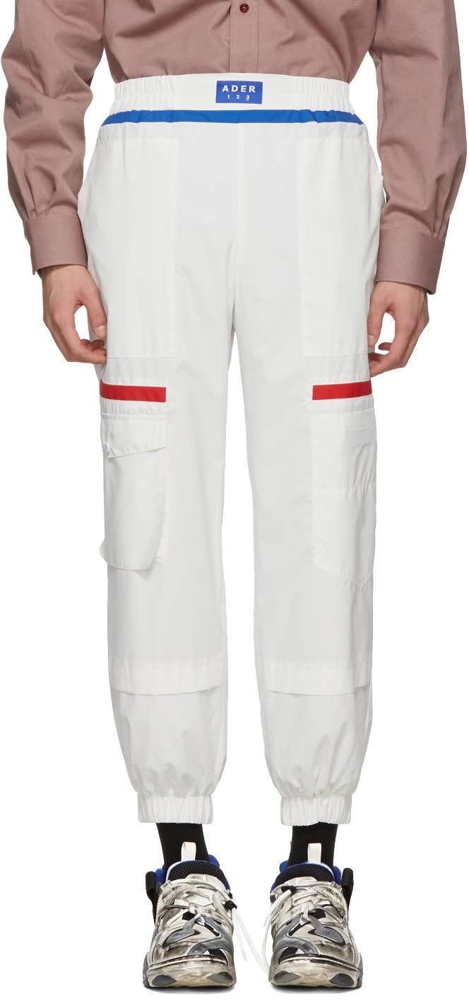 Ader Error Pantalon Blanc Gundamn