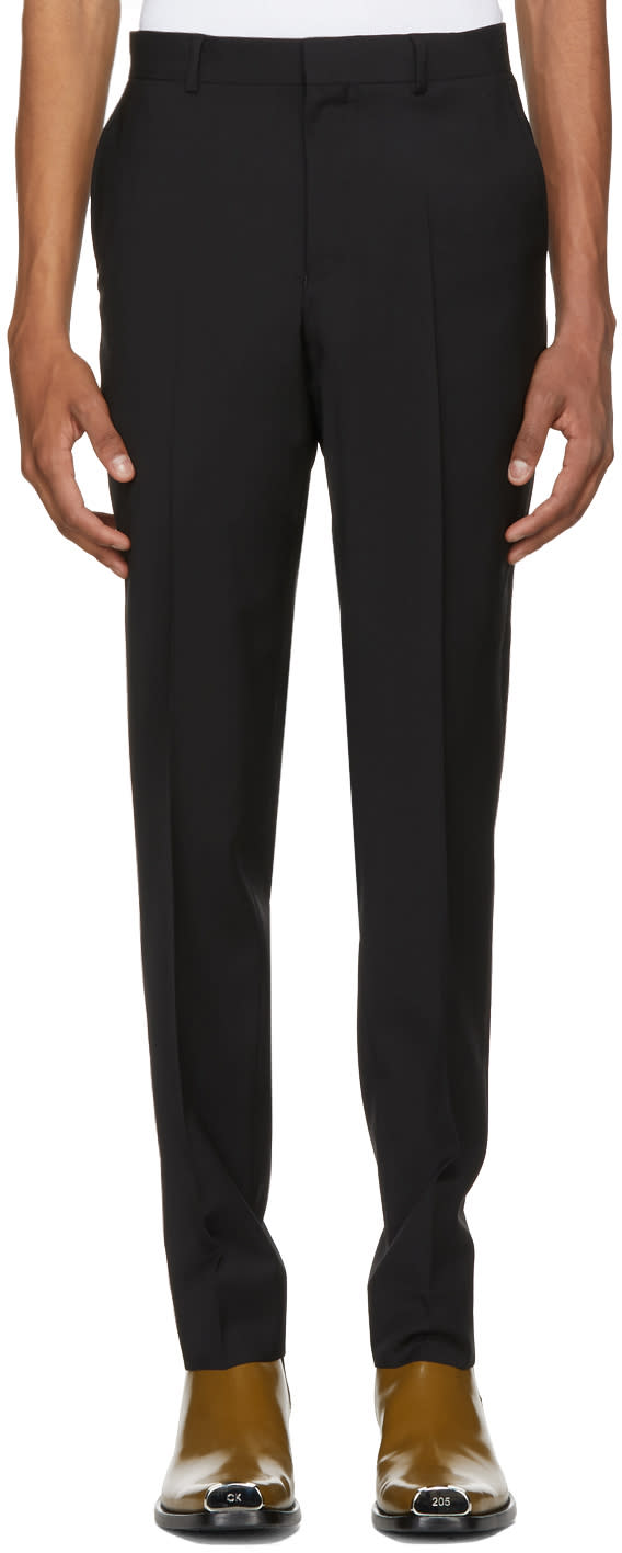 Image of Sss World Corp Black Rampage Suit Trousers