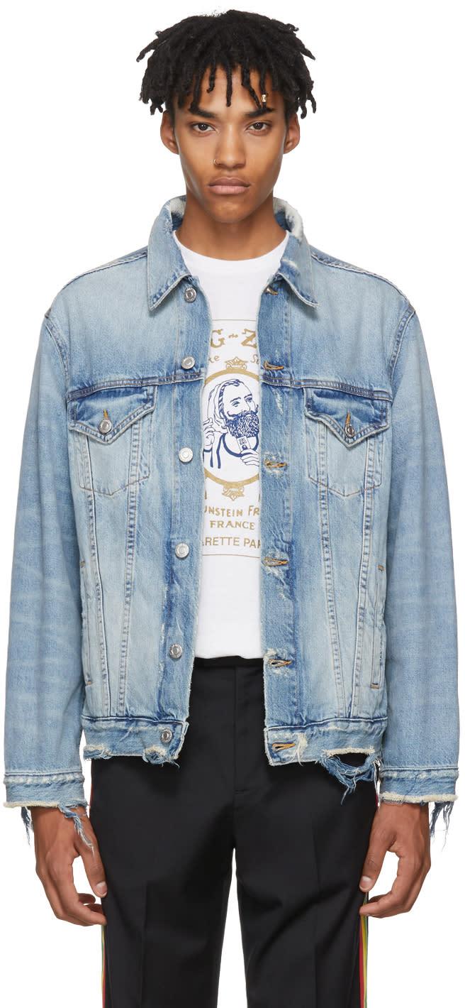 Image of Adaptation Blue Oversized Denim Jacket