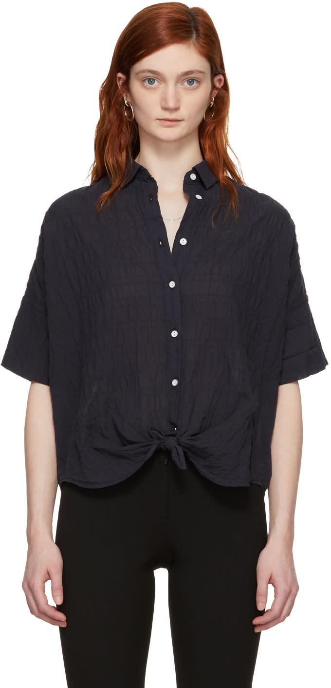 b3ff5d1194ebb Rag and Bone Black Tie Shirt