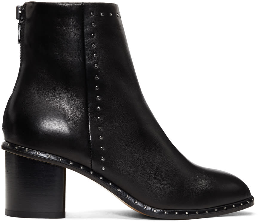 Rag and Bone Bottes Noires Willow Stud