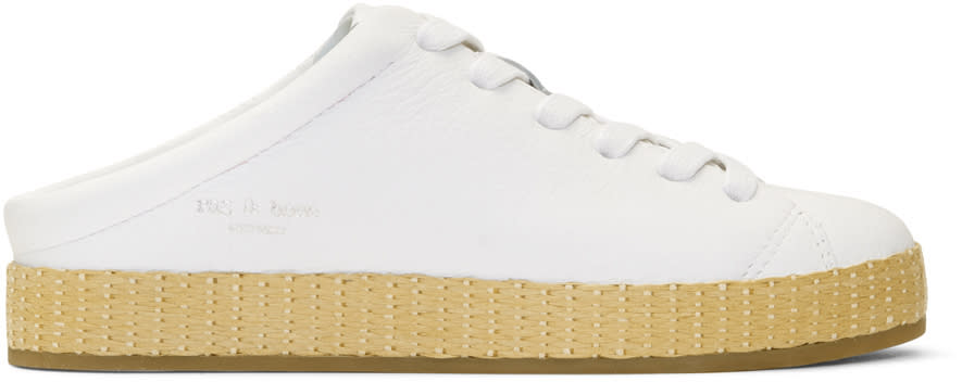Rag and Bone Espadrilles Blanches Rb1