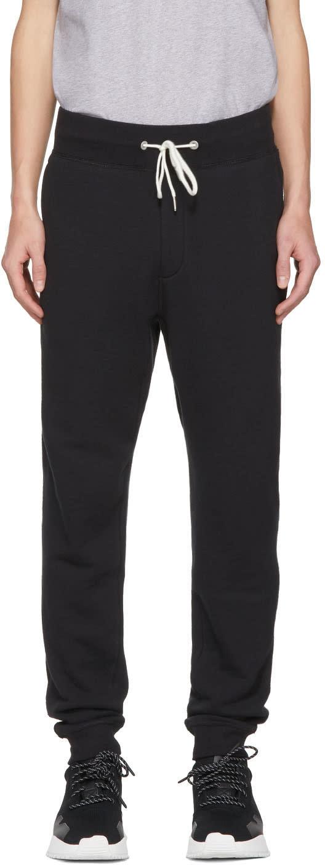 Rag and Bone Pantalon De Survêtement Noir Standard Issue