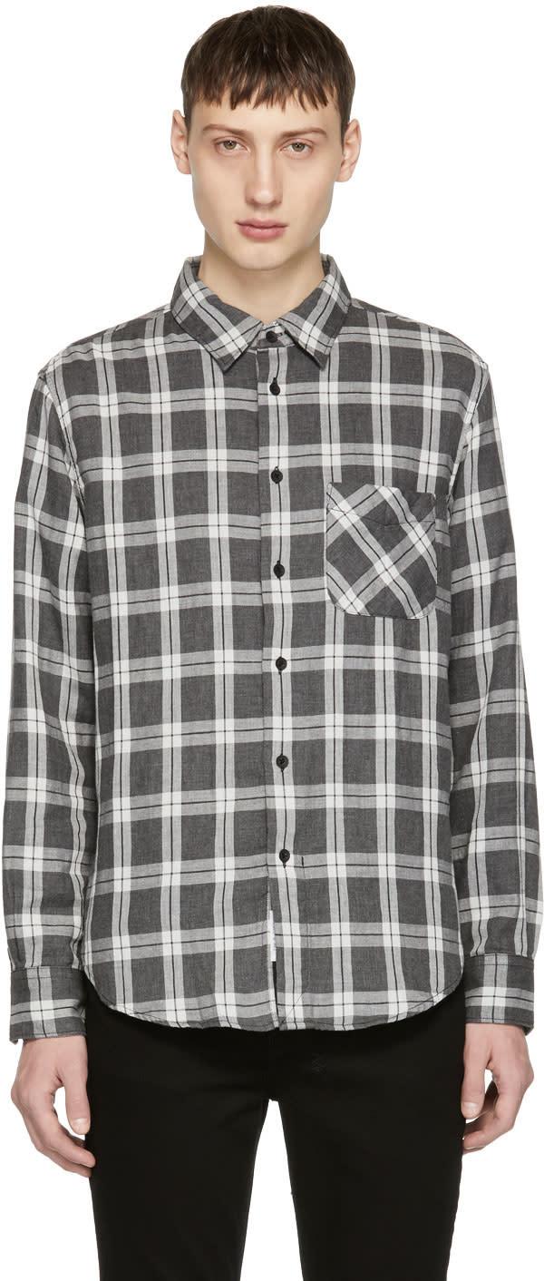 fcc846599b Rag and Bone Grey fit 3 Beach Shirt