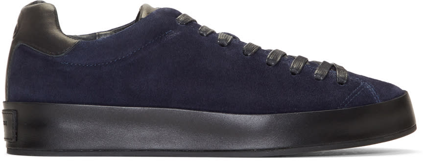 Rag and Bone Blue Suede Rb1 Sneakers