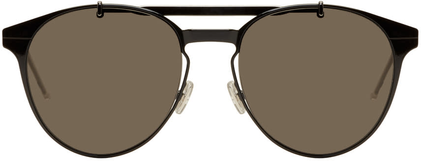 Image of Dior Homme Black Dior Motion 1 Sunglasses