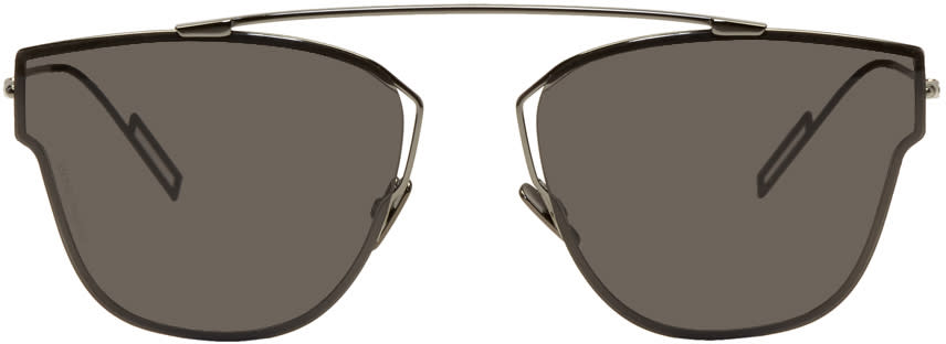 Image of Dior Homme Gunmetal 0204-s Sunglasses