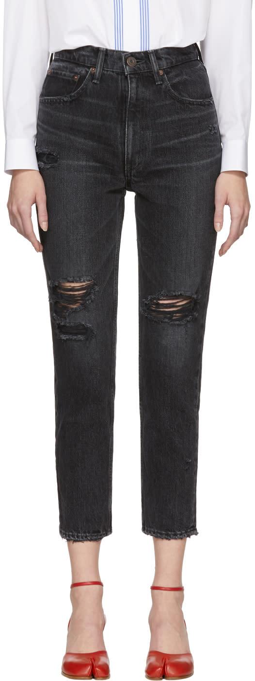Moussy Black Stuart Boy Skinny Jeans