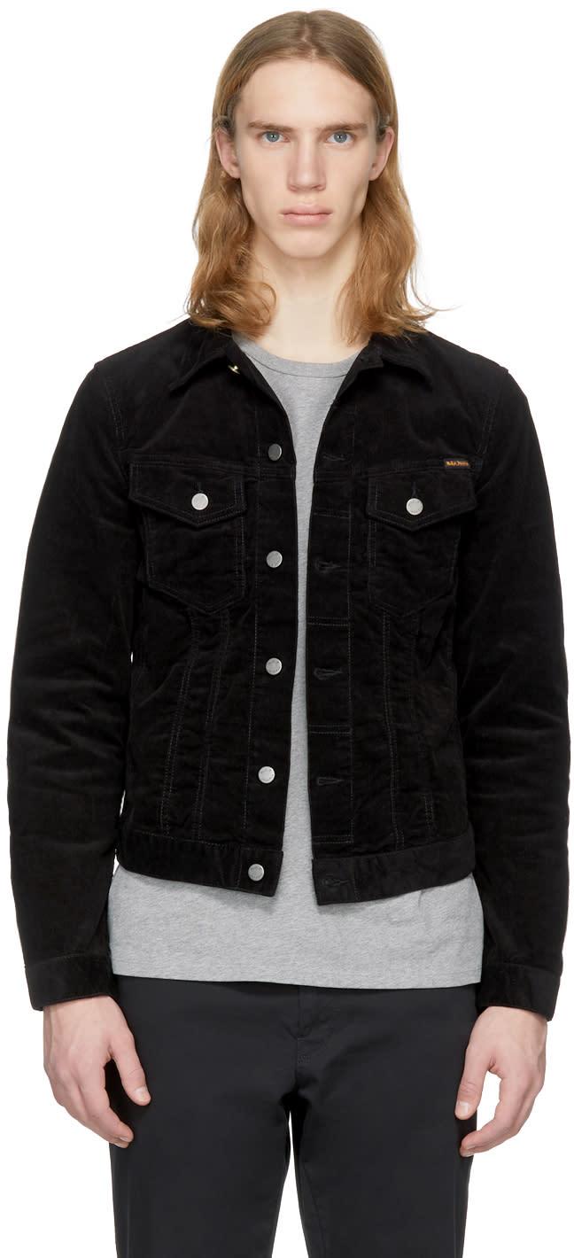 Nudie Jeans Black Corduroy Billy Jacket