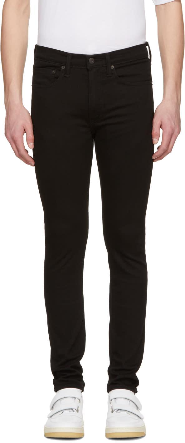 Levis Black 519 Extreme Skinny Jeans