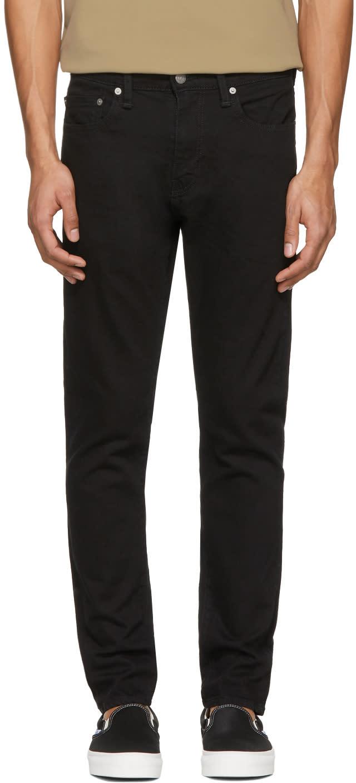 Image of Levis Black 512 Slim Tapered Jeans