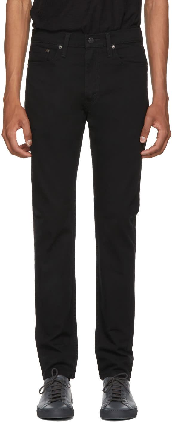Image of Levis Black 501 Skinny Jeans
