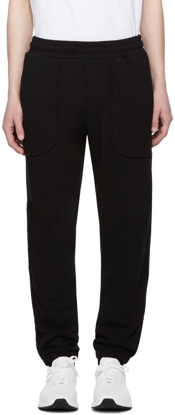 Mcq Alexander Mcqueen Pantalon De Survêtement Noir Inside Out