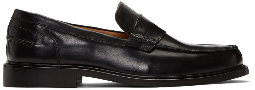 details for sale online quality products Tiger Of Sweden Black Cevin Loafers