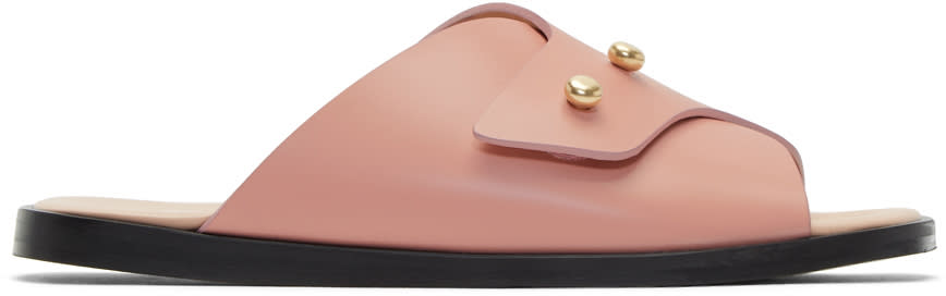 Acne Studios Pink Jilly Sandals