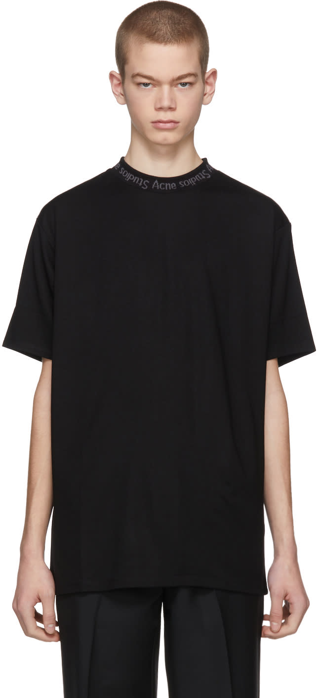 Acne Studios Black Navid T shirt