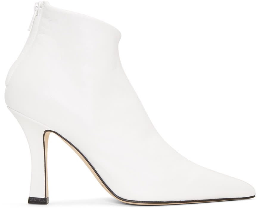 Helmut Lang Bottes Blanches Glove