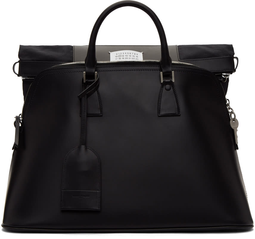 Image of Maison Margiela Black 5ac Bag