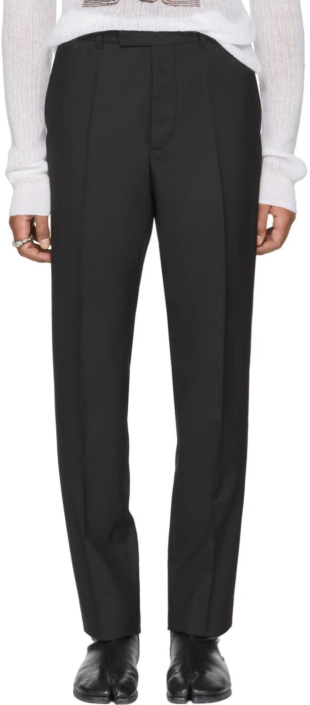 ced2e5c2e3396 Maison Margiela Black Suit Trousers