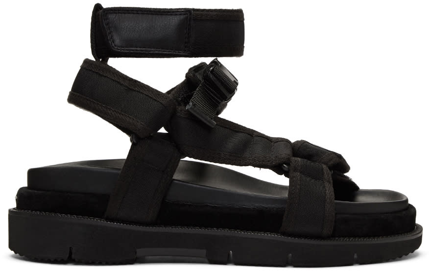Maison Margiela Black River Sandals