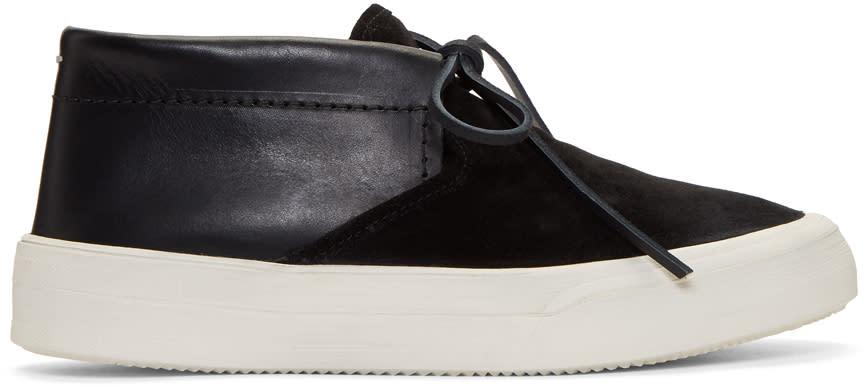 a9081d899ad Maison Margiela Black Chukka Hybrid Sneakers