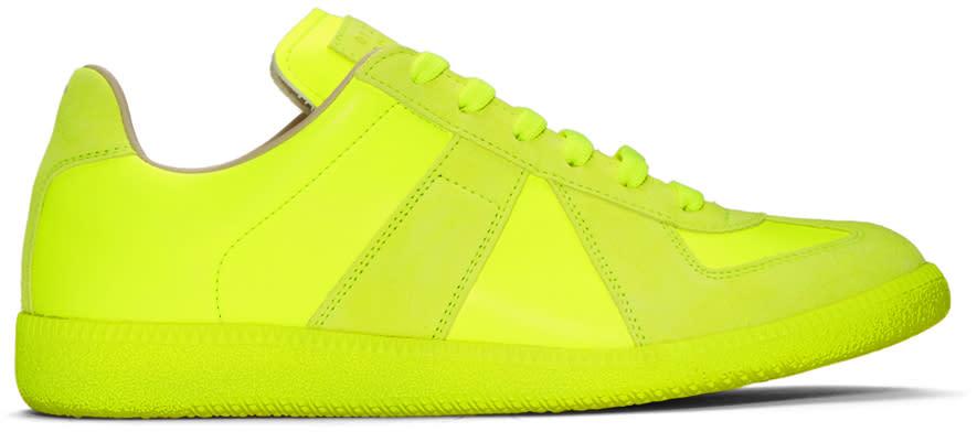 9a69d2daaf12 Maison Margiela Yellow Replica Sneakers