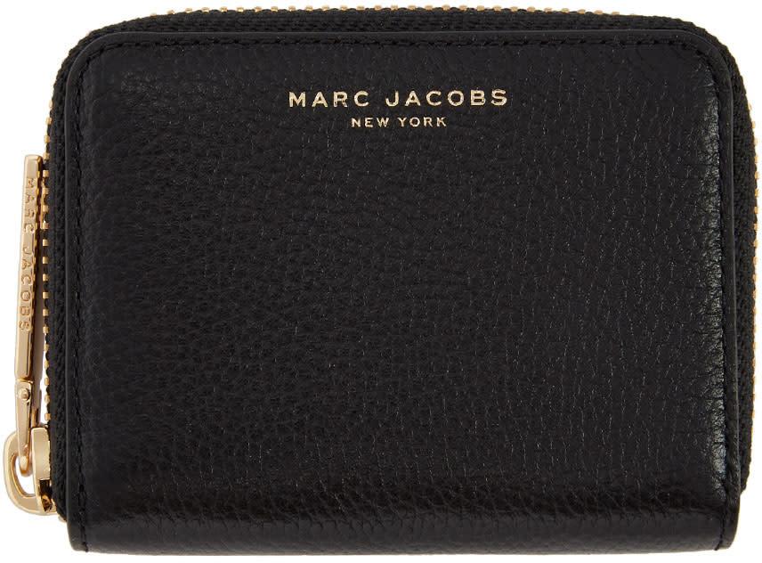 Marc Jacobs Black Small Zip Around Wallet