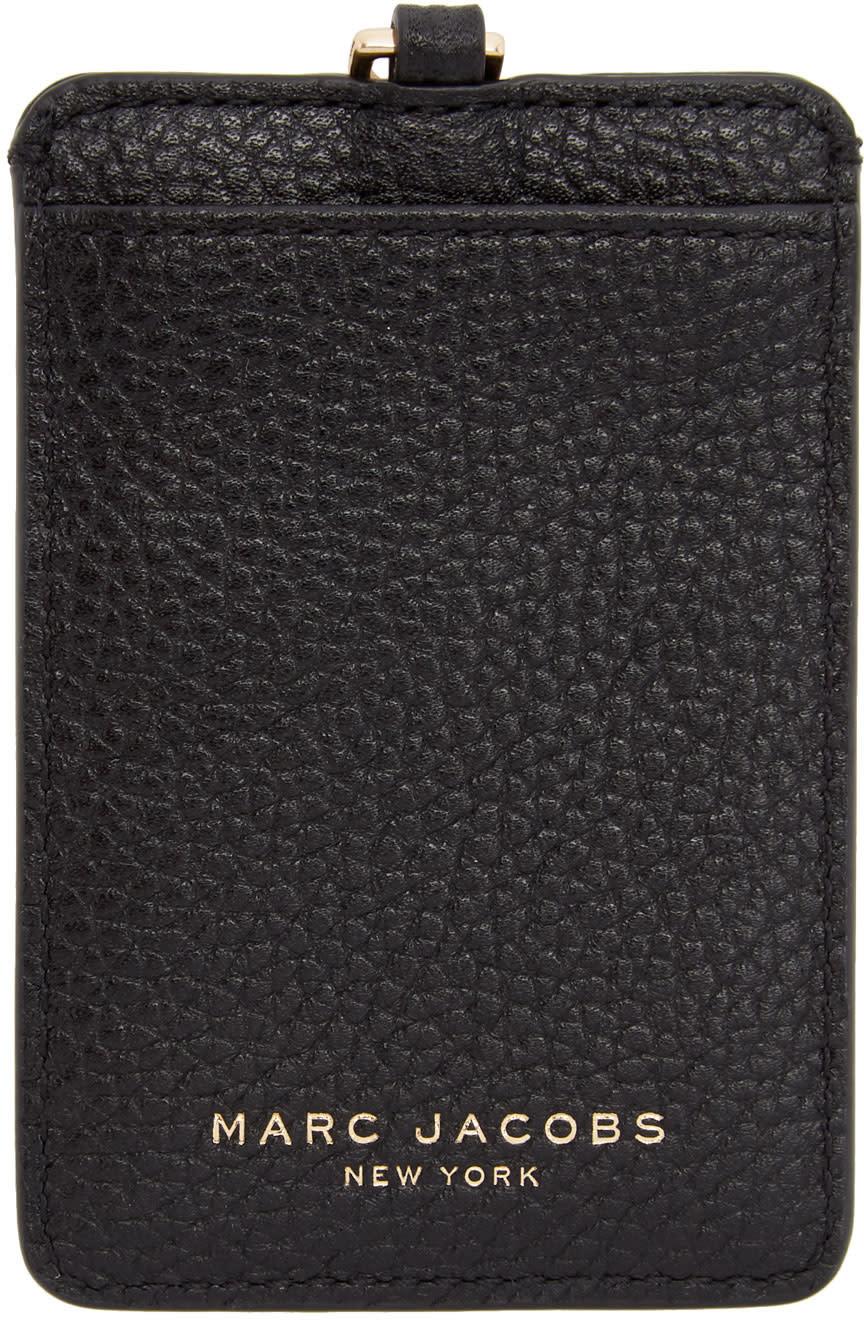 Marc Jacobs Black Commuter Pass Card Holder