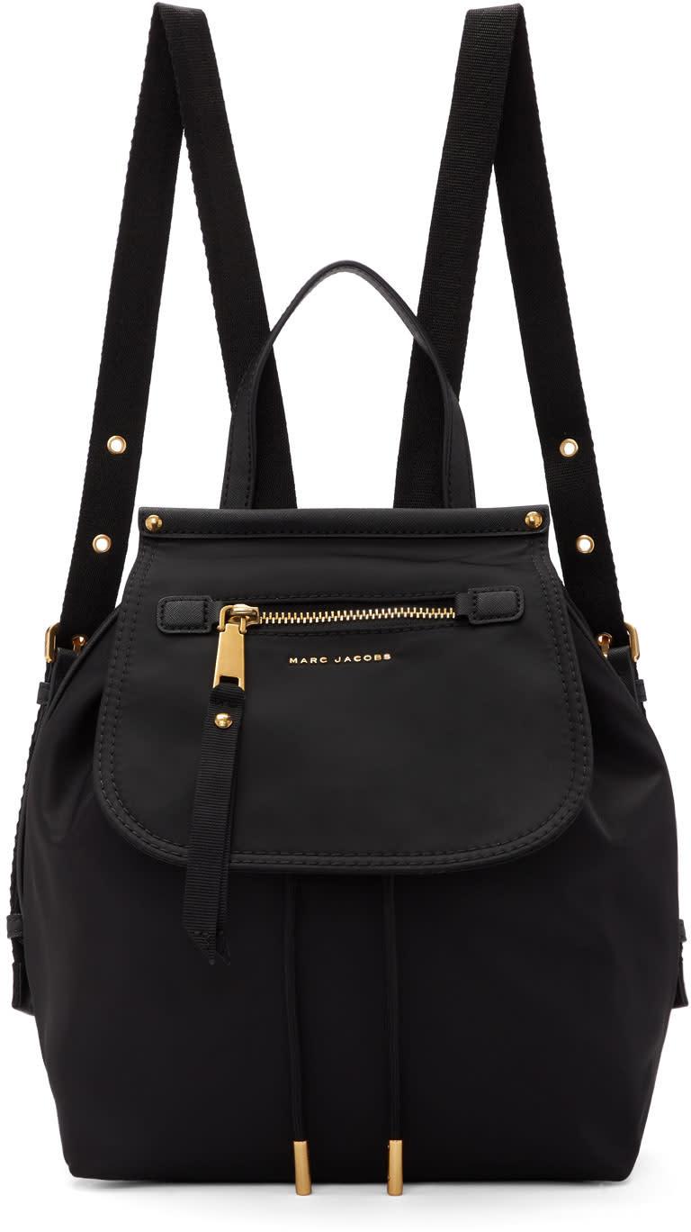 Marc Jacobs Black Nylon Trooper Backpack