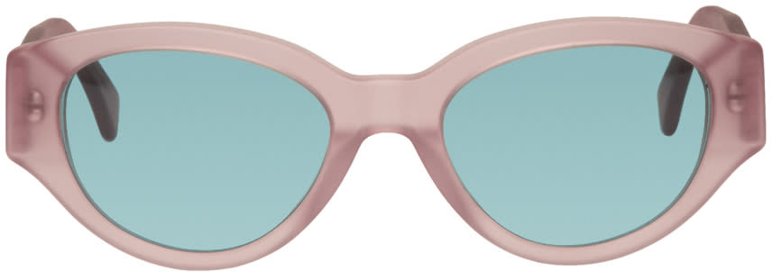 Image of Super Pink and Blue Drew Mama Sunglasses