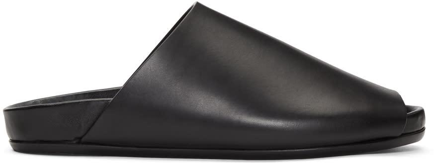 Rick Owens Black Granola Sandals