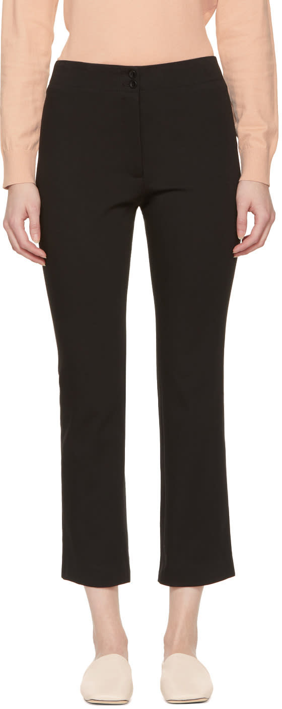 A.p.c. Pantalon Noir Iggy