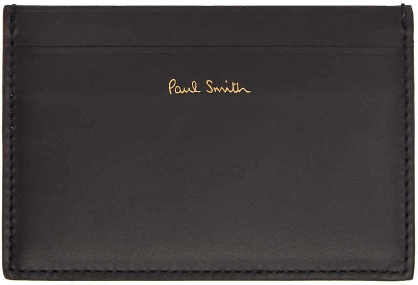 Image of Paul Smith Black Bike Card Holder
