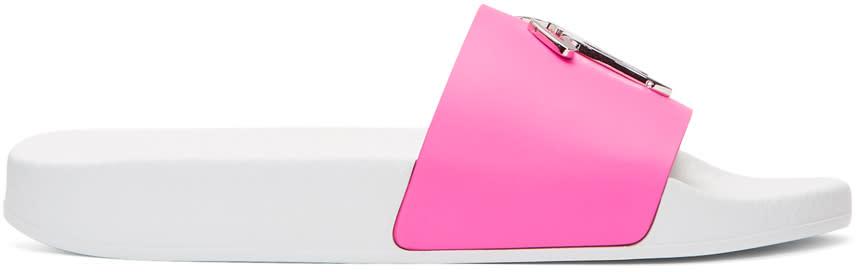 Giuseppe Zanotti Pink Laburela Slides