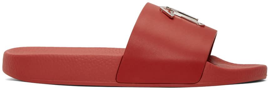 Giuseppe Zanotti Red Logo Sandals