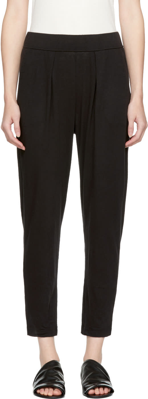 Image of Raquel Allegra Black Easy Lounge Pants