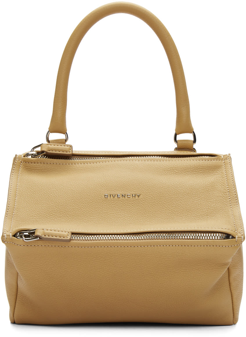 Image of Givenchy Beige Small Pandora Bag