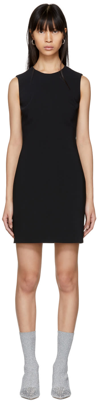 Givenchy Black Round Neck Short Dress
