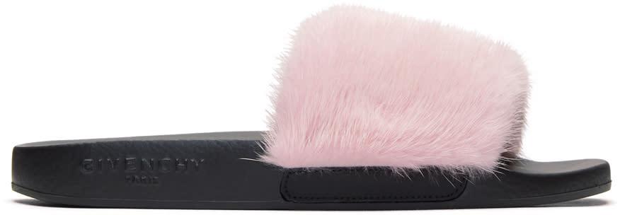 Givenchy Pink Mink Slides