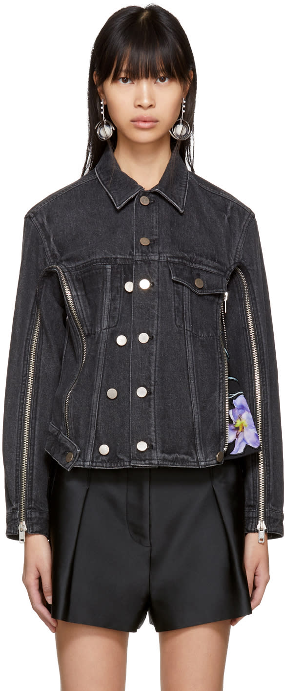 31 Phillip Lim Black Denim Jacket
