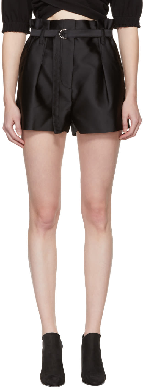 31 Phillip Lim Black Origami Shorts