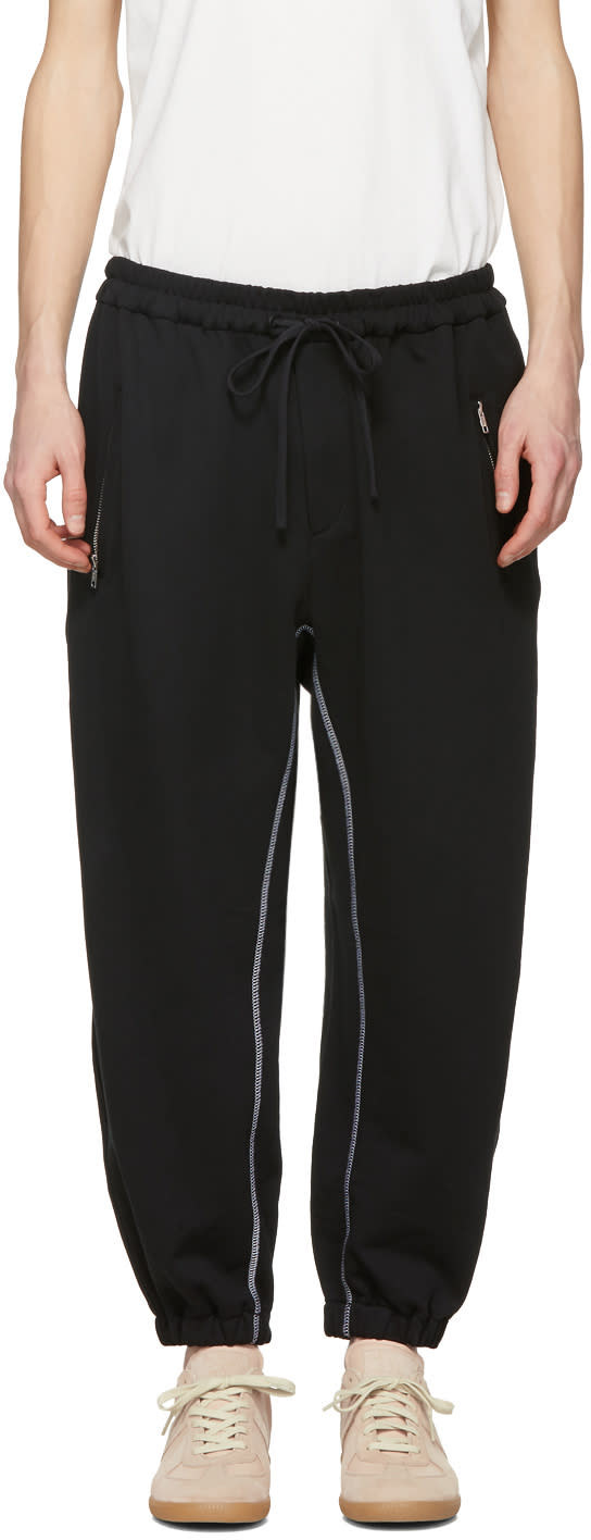 31 Phillip Lim Black Banana Lounge Pants