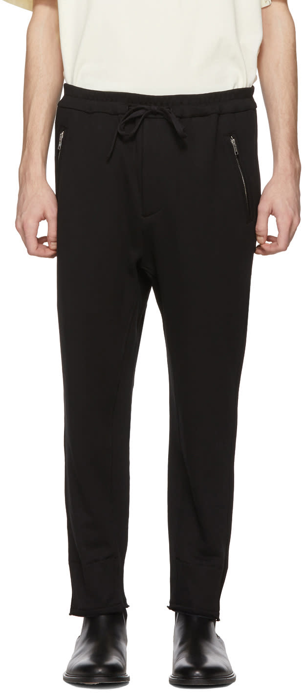 31 Phillip Lim Black Cropped Lounge Pants